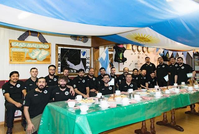 Dotación de la Campaña 2017 Base Belgrano II
