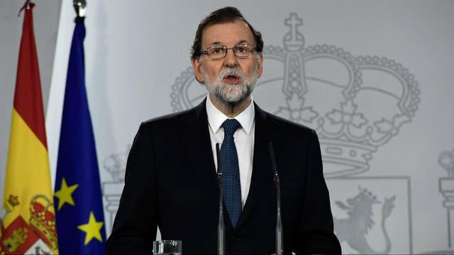 Mariano Rajoy, cada vez más firme contra la independencia de Cataluña