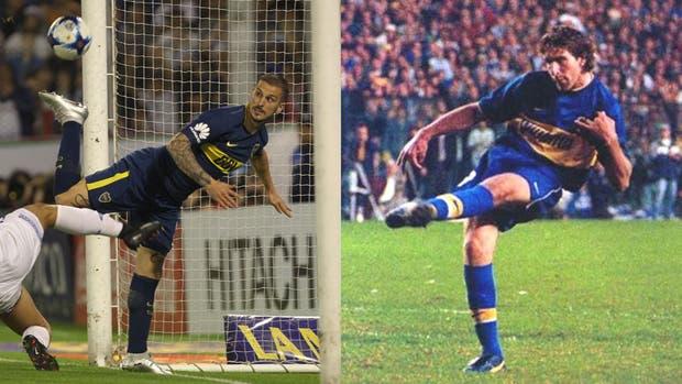 Benedetto y Palermo, dos goleadores de calidad
