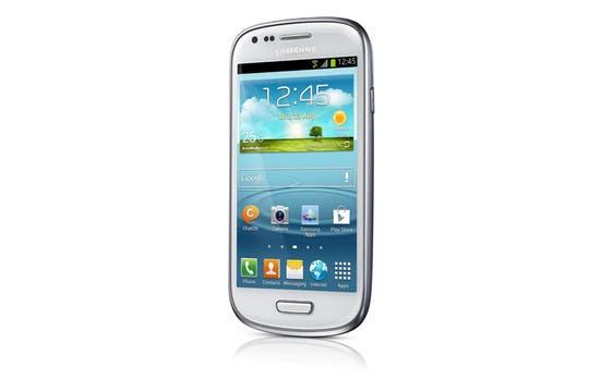 Samsung Galaxy S III Mini. Foto: Gentileza Samsung