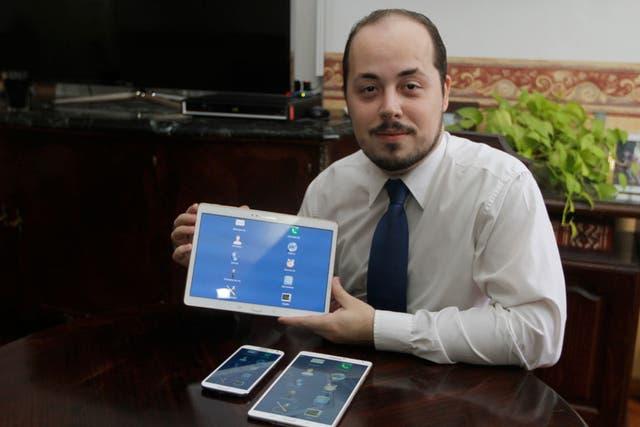 Leonardo Russo, el creador de la aplicación