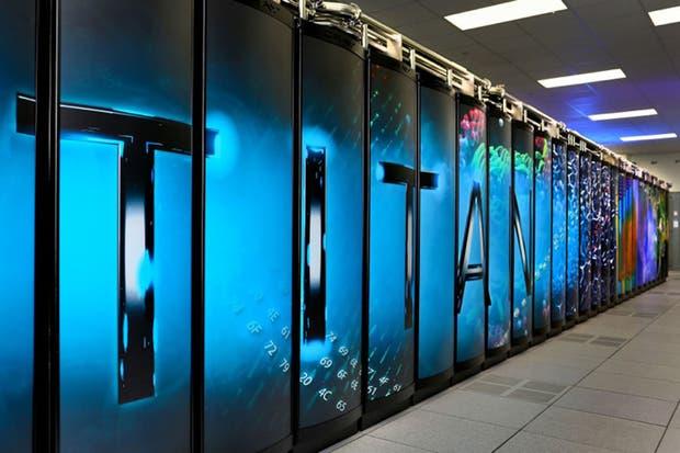 Titan, la supercomputadora del laboratorio nacional Oak Ridge de Estados Unidos, que se ubica en el segundo lugar detrás de la máquina china Tianhe-2