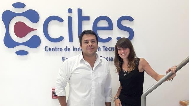 Daniel Sequeiros y Luciana Bollati