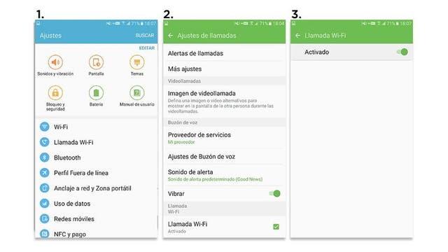 En los teléfonos compatibles no requiere agregar software, sino simplemente activar la función de llamadas por Wi-Fi