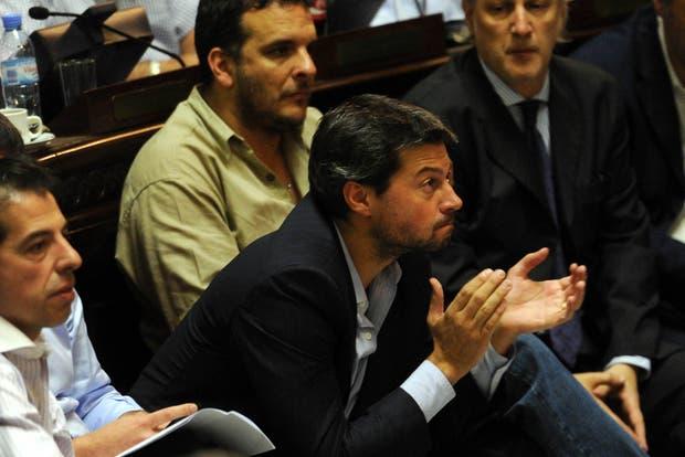 Lammens, en la sesión en la Legislatura