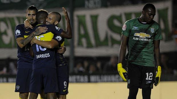 Boca celebró una importante victoria en el Sur