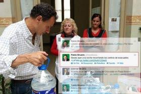 La foto del tuit que difundió el equipo de comunicación, que generó la polémica