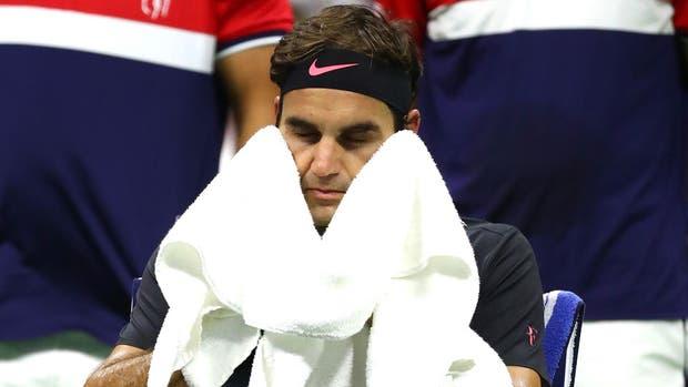 Federer se lamentó por la derrota, pero le pareció justa