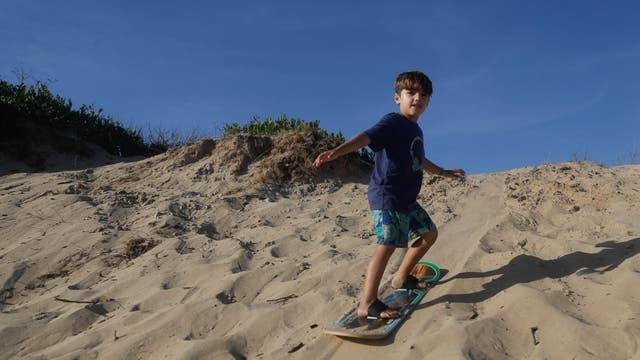 Simón se baja de la arena como un campeón