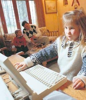 Con la guía de la familia, Internet es un entretenimiento que enseña
