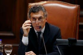 Macri, en la Legislatura porteña