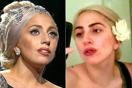 Famosa por sus looks extravagantes, Lady Gaga también tiene sus momentos a cara lavada, como la muestra su foto de Twitter. Foto: Archivo
