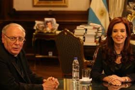 La Presidenta se reunió el año pasado con Arancedo en la Casa Rosada