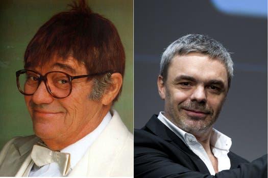 Unidos por el espectáculo. El prestigioso comediante Tato Bores y su hijo Sebastián Borensztein, guionista y director de cine. Foto: Archivo