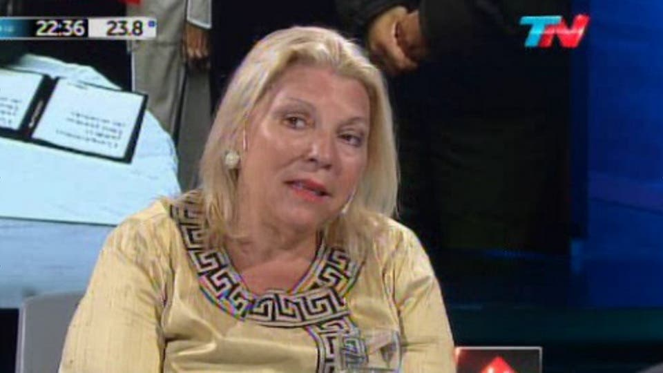 Elisa Carrió Captura de pantalla