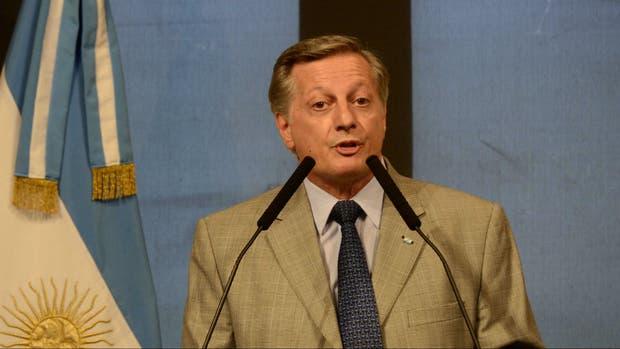 El ministro de Energía, Juan José Aranguren