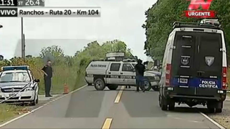 Triple crimen: los prófugos están cercados por un megaoperativo policial en Ranchos