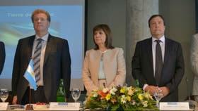 Bullrich encabezó ayer una reunión del Consejo de Seguridad Interior en Bariloch