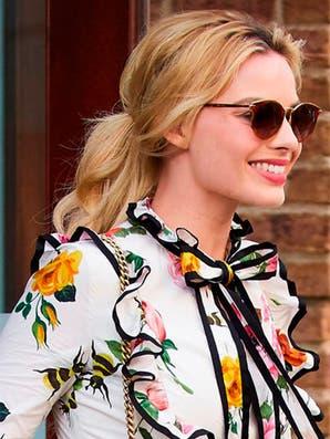 10 peinados de Margot Robbie para inspirarte