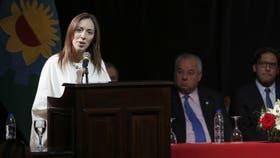 María Eugenia Vidal Enojada, habló a los jueces, Muy dura
