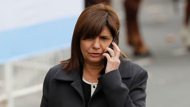 Patricia Bullrich, ministra de Seguridad