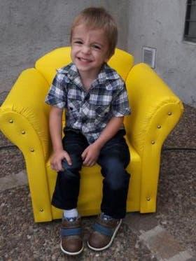 """Las pruebas genéticas concluyeron que Gabi es un enfermo """"de novo"""". La mutación genética en el cromosoma X que le causa enfermedad de Dent no es heredada"""