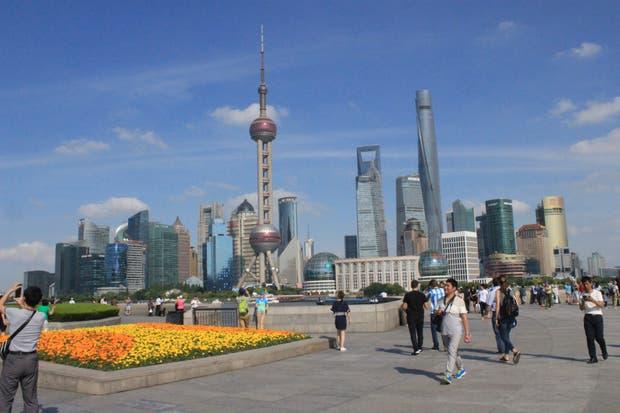 El moderno perfil de Shanghai
