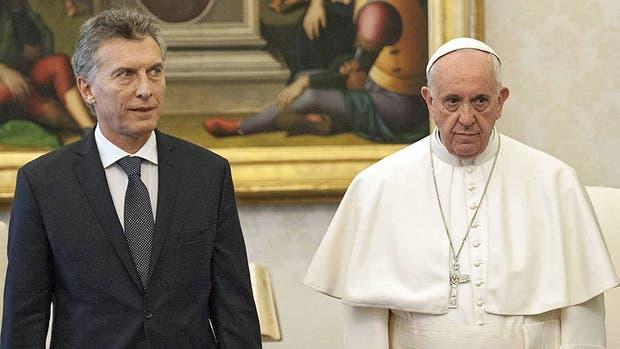 Macri visito al Papa por primera vez el 27 de febrero de 2016