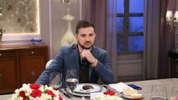 Diego Brancatelli en el programa de Mirtha Legrand