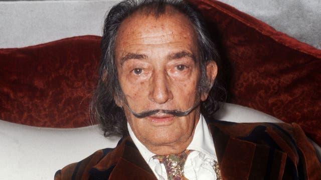 Salvador Dalí en 1972