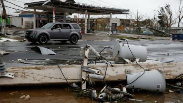 Puerto Rico evalúa daños dejados huracán María
