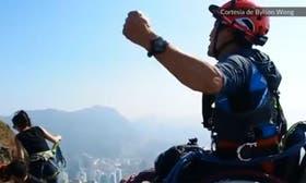 Lai Chi-wai está nominado al Premio Laureus del deporte por haber escalado en silla de ruedas una montaña