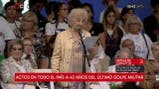Habló Estela De Carlotto en el acto en Plaza De Mayo por el Día De La Memoria