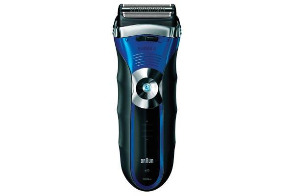 Afeitadora para usar abajo de la ducha (Braun, $749).