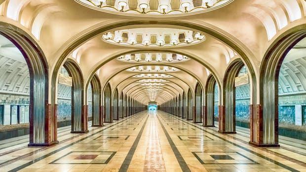 Moscú y los rastros de los años 30 bajo tierra. Foto: Marco Rubino