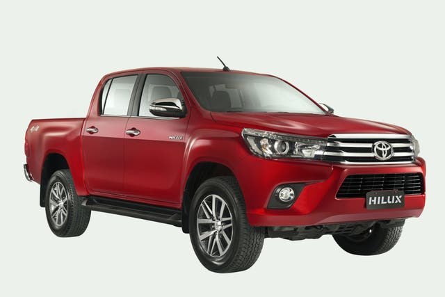 La Toyota Hilux, primera entre las pickups