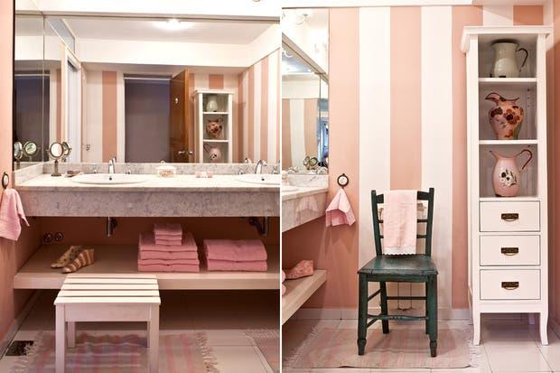 Bachas Para Baño Pequeno:verticales ayudan a estilizar el lugar Para reforzar el espacio de