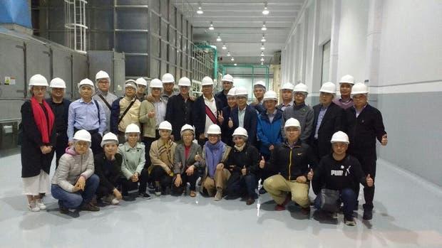 La delegación de empresarios chinos que visitó la zona productora de maní en Córdoba