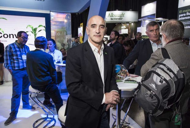 Gustavo Portis, director del negocio de protección de cultivos de Basf