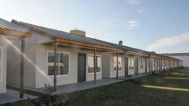 Construyeron 50 nuevas viviendas para el programa Casas por Cárceles
