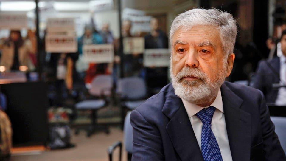 Julio De Vido en los tribunales de Comodoro Py