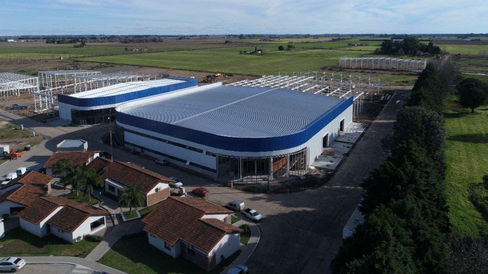 El nuevo predio de Terragene en el Parque Industrial Micro, en Santa Fe
