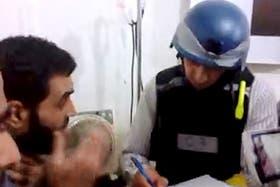 El equipo de la ONU se entrevistó con víctimas y enfermeros, según mostraron videos de activistas