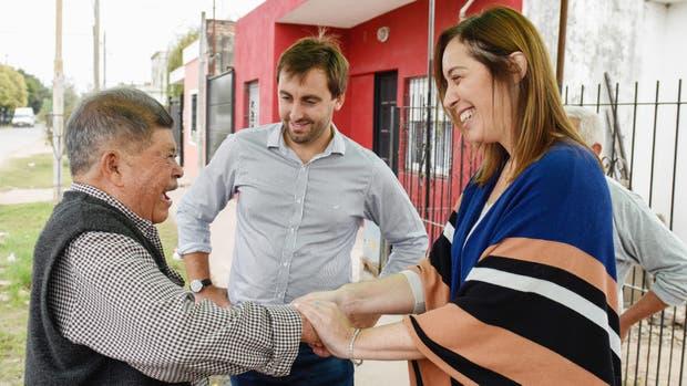 Macri y Vidal arrancaron la campaña de Cambiemos con un timbreo nacional
