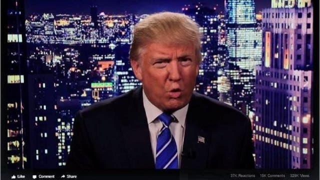 En la medianoche del viernes, Trump publicó un video donde pedía disculpas por sus dichos y atacaba al matrimonio Clinton.