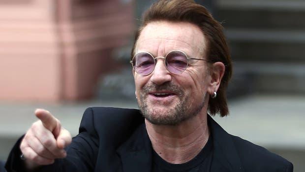 Bono celebró la victoria de Argentina en Buenos Aires
