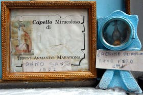 Diego aún hoy es un semi Dios en Nápoles