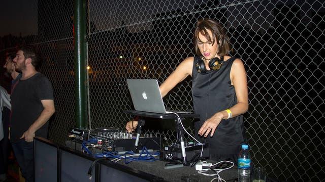 Catarina Spinetta fue la dj de lujo en la casa HSBC.