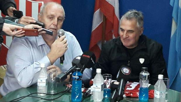 Madelón, en la presentación ante la prensa