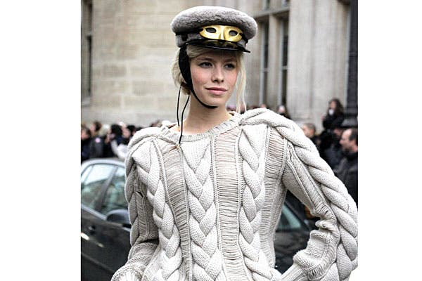 Espigas reloaded en un suéter comodísimo. Foto: Agustina Garay Schang (desde París)